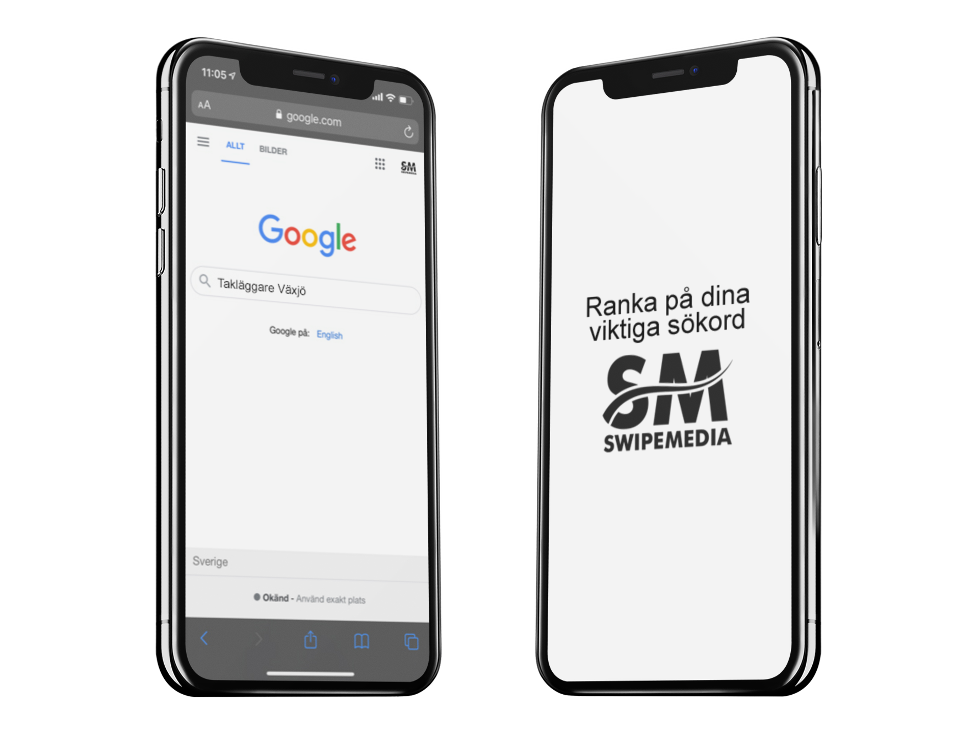 Mobiler som söker på Google